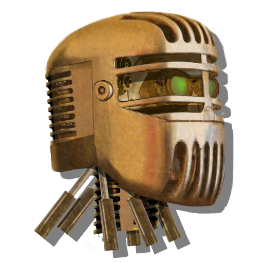 Robot Head Icon Mk5