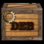 Steampunk Victorian Compressed DEB file Icon Mk2
