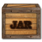 Steampunk Victorian Compressed JAR file Icon Mk2