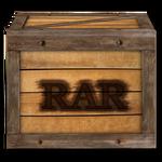 Steampunk Victorian Compressed RAR file Icon Mk2