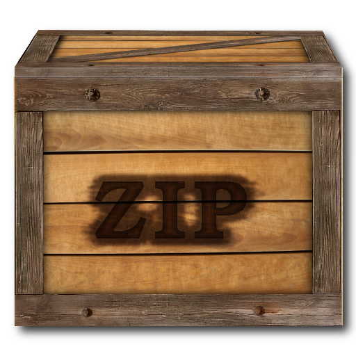 how to create a compressed zip file