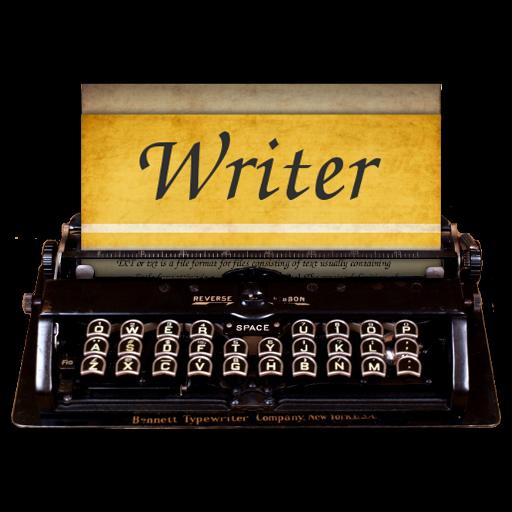 Steampunk Victorian Writer word processor Icon