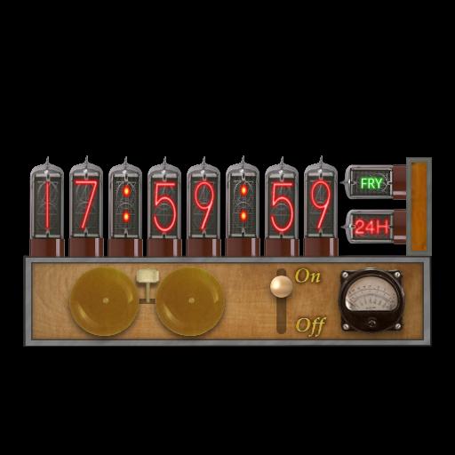 Nixie Steampunk Clock-Calendar Screenlet Mk2