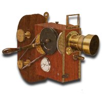 Steampunk-Victorian Videocamera Icon Mk3