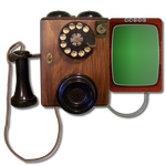 Steampunk Victorian Video Conference Icon