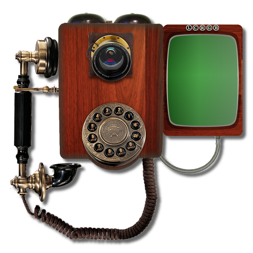 Steampunk Victorian Video Conference Icon Mk2 By