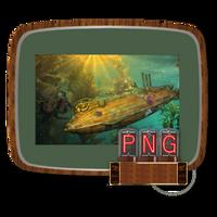 Steampunk Victorian PNG File Icon Mk1