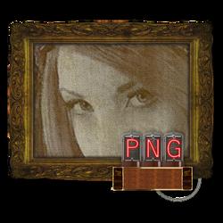 Steampunk Victorian PNG File Icon Mk2
