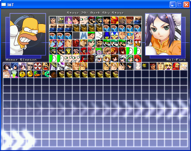 How to build your own mugen roster: 6 steps.