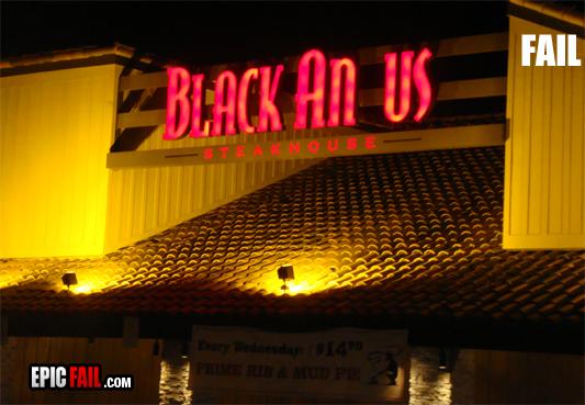 Black Anus Picture