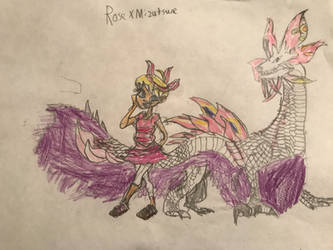 Rose X Mizutsune by Alexh4070