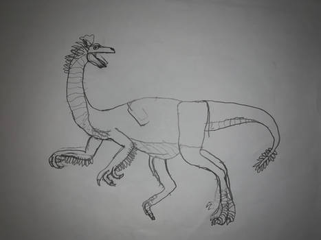 My Ornithomimid Depiction