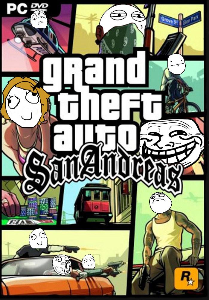 GTA San Andreas Memes by ZA-7