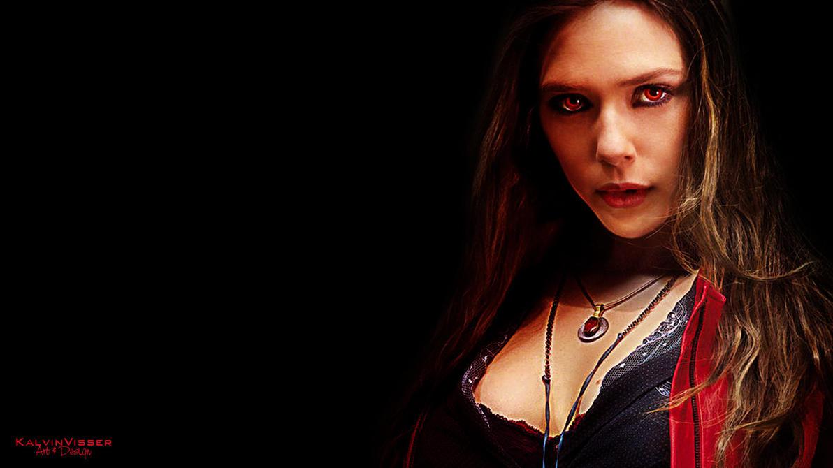 Scarlet Witch Poster HD By KalvinVisser Art Desi JustKalvin