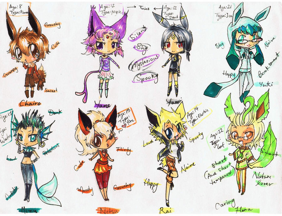 Eeveelutions the Shink...
