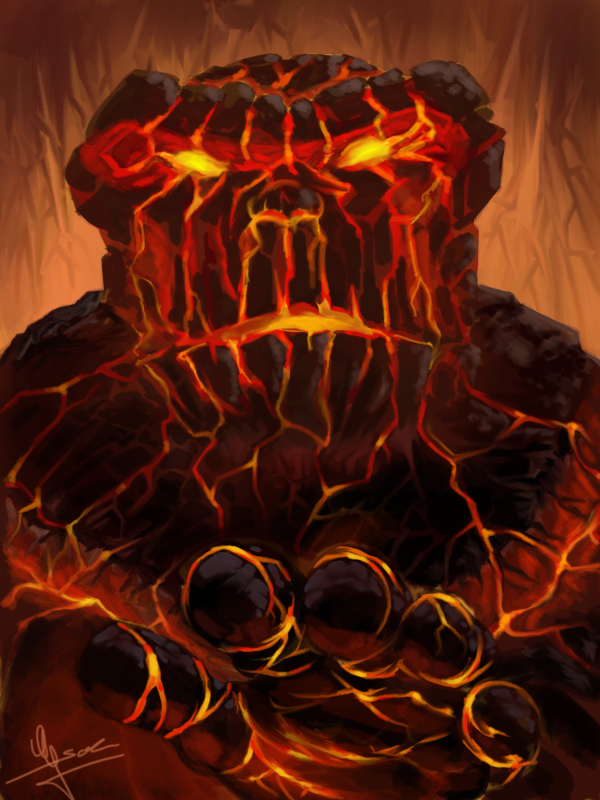 Molten Giant by Evolvana