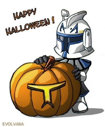 Halloween Rex by Evolvana