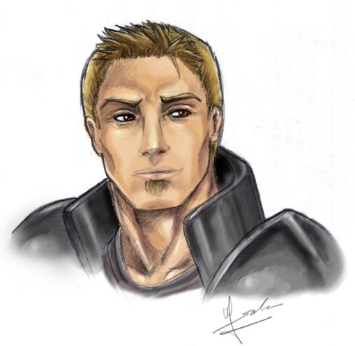 Alistair portrait by Evolvana
