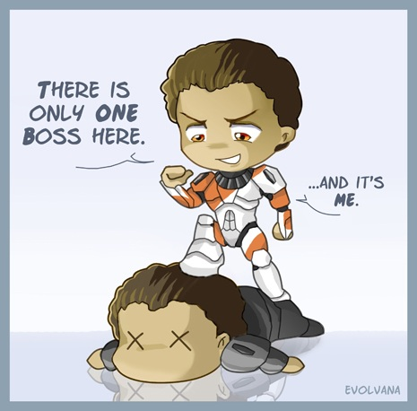 Boss vs Niner by Evolvana