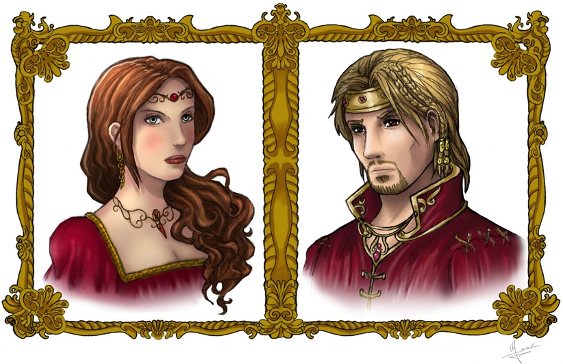 King and Queen of Ferelden by Evolvana