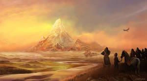 Erebor the lonely mountain