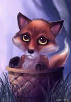 Baby Fox by Evolvana