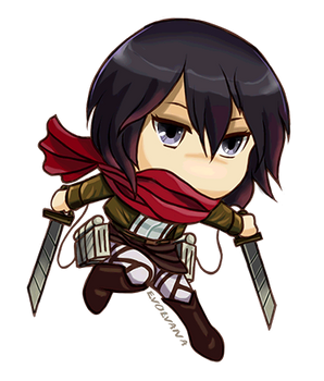 Mikasa chibi