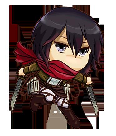 Attack On Titan Mikasa Chibi
