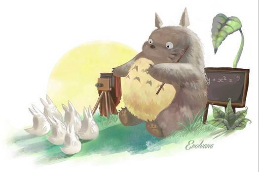 Totoro the teacher