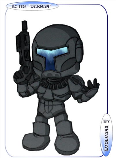 Darman - Republic commando by Evolvana