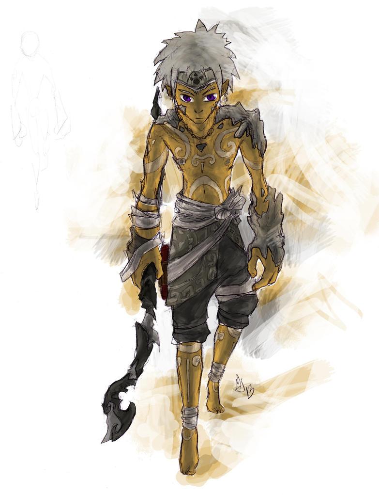 Gerudoz - Zelda fanart by Juhua