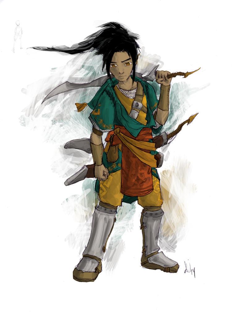 Saphir - Zelda fanart by Juhua