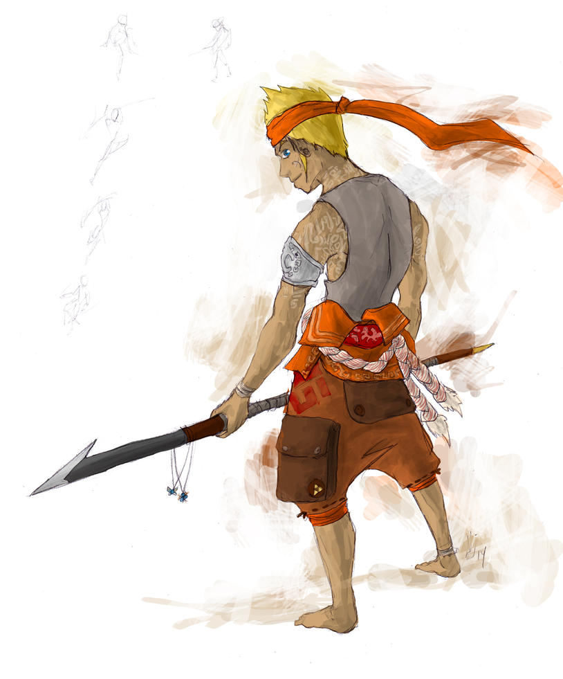 Path - Zelda fanart by Juhua