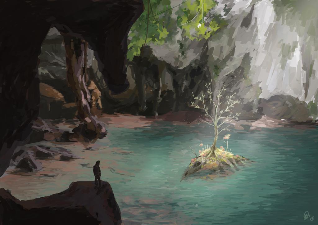 Environment study 03 by Juhua