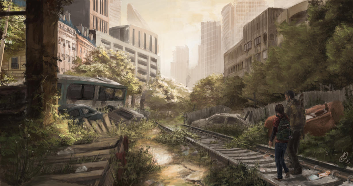 A Journey for The Last of Us by Juhua