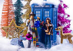 Happy Christmas and Happy Holidays From the TARDIS by Batced