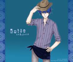 KAITO with hat by zoinxzoin