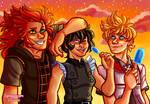 Kingdom Hearts: Seasalt Trio by Spoopyium
