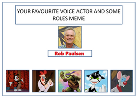 Rob Paulsen Voice Actor Meme