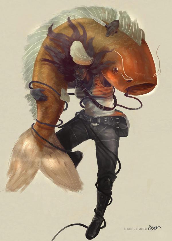 Goldfish by RodrigoICO
