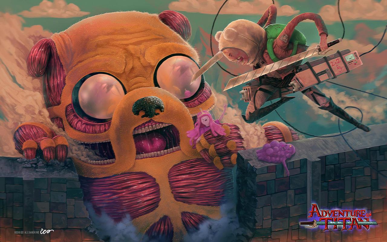 Adventure on Titan - Double Fanart