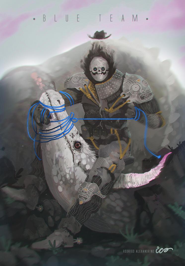Dragon Hunter by RodrigoICO