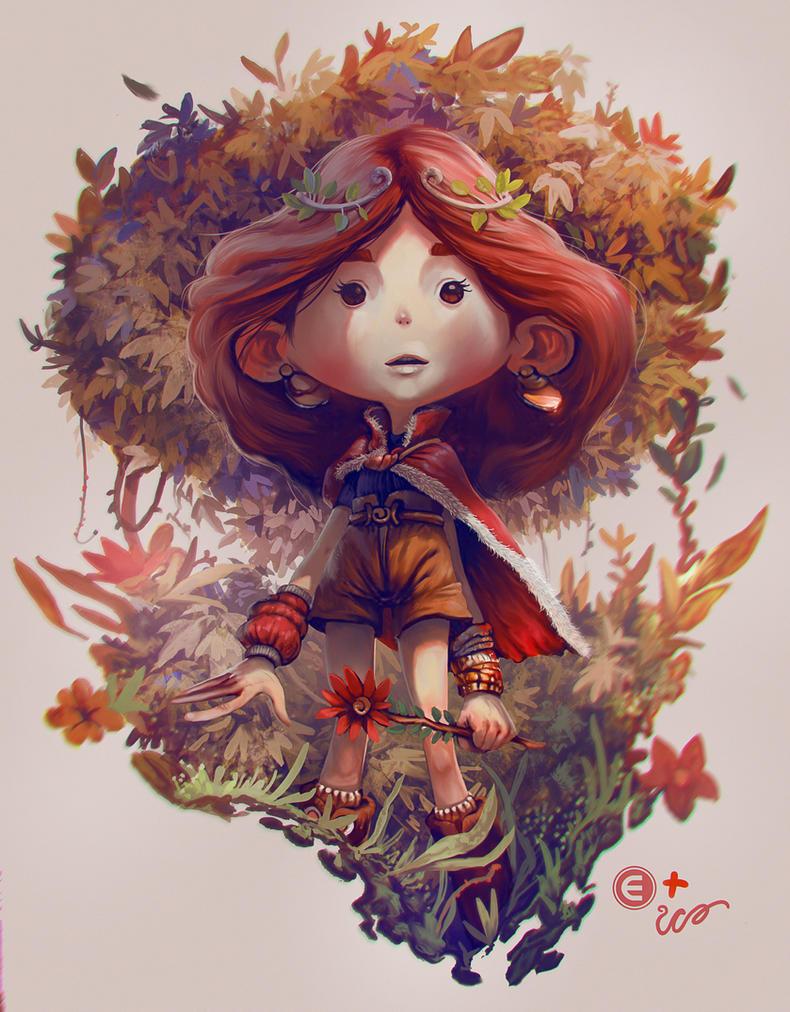 The Garden Princess - Collab with Eduardo Vieira by RodrigoICO