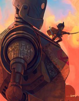 Iron Giant and Astro Boy
