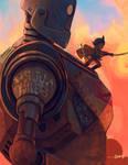 Iron Giant and Astro Boy by RodrigoICO