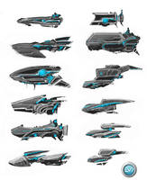 Transport Ship 01 by VincentGordon
