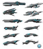 Transport Ship 02 by VincentGordon