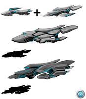 Transport Ship 04 by VincentGordon