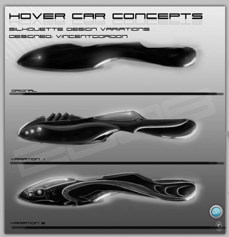 hover car variations2 by vincentgordon