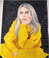 Billie Eilish by alyssamcsp